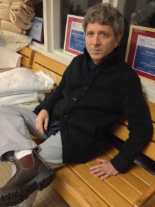 Photo of Ronald Braunstein on a bench