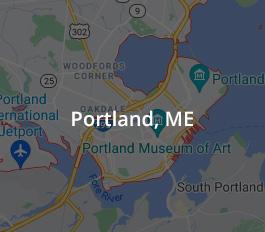 Map of Portland, Maine