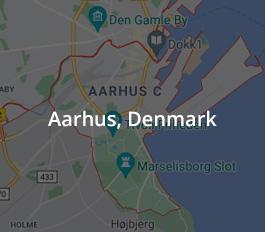 Map of Aarhus Denmark